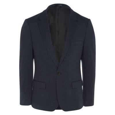 Fashion 4 Men - yd. Ponte Blazer Grape 2 Xs