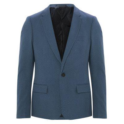 Fashion 4 Men - yd. Ponte Blazer Slate Xxl
