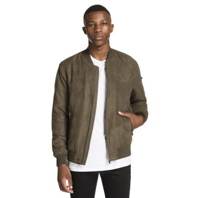 Fashion 4 Men - yd. Rowan Suede Jacket Khaki Xs