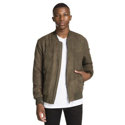 Fashion 4 Men - yd. Rowan Suede Jacket Khaki Xxl