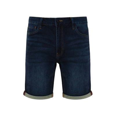 Fashion 4 Men - Tarocash Buster Knit Denim Short Ink 36