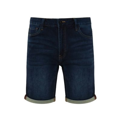 Fashion 4 Men - Tarocash Buster Knit Denim Short Ink 38
