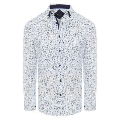 Fashion 4 Men - Tarocash Cali Floral Print Shirt Navy Xxxl