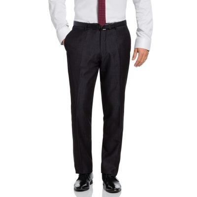Fashion 4 Men - Tarocash Cutter Textured Pant Charcoal 35