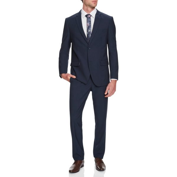 Fashion 4 Men - Tarocash Dan 2 Button Suit Blue 36