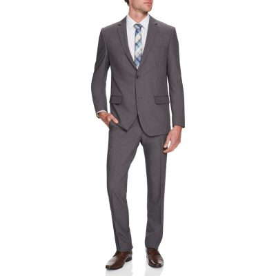 Fashion 4 Men - Tarocash Eugene Stretch 2 Button Suit Charcoal 36