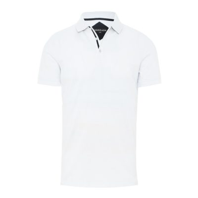 Fashion 4 Men - Tarocash Fabio Pique Polo White Xxl