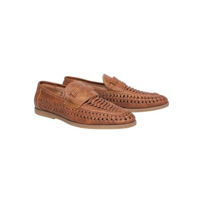 Fashion 4 Men - Tarocash Harry Slip On Shoe Tan 12
