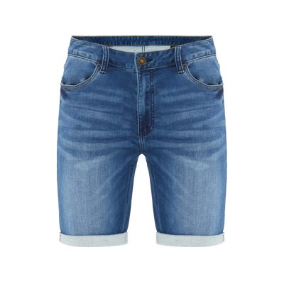 Fashion 4 Men - Tarocash Rhymes Knit Denim Short Blue 40