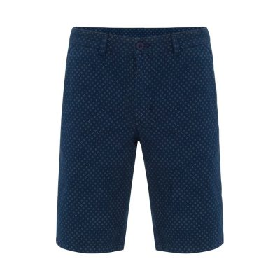 Fashion 4 Men - Tarocash Trevor Print Short Indigo 33