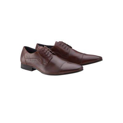 Fashion 4 Men - yd. Garbo Dress Shoe Mocha Choc 7