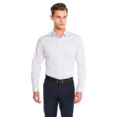 Fashion 4 Men - yd. Largo Slim Fit Dress Shirt Lilac 3 Xs