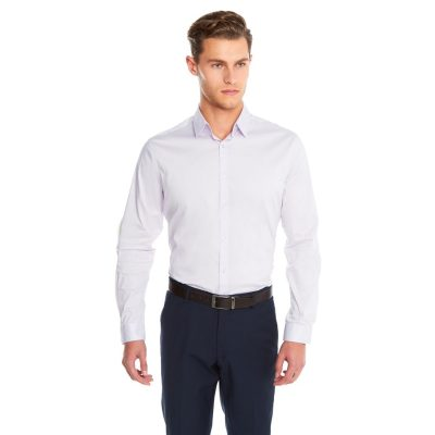 Fashion 4 Men - yd. Largo Slim Fit Dress Shirt Lilac Xl