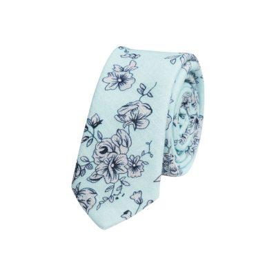 Fashion 4 Men - yd. Marley 5 Cm Tie Mint/Navy One