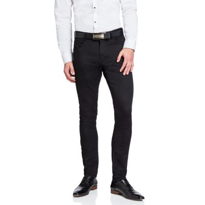 Fashion 4 Men - yd. Nicol Chino Black 34