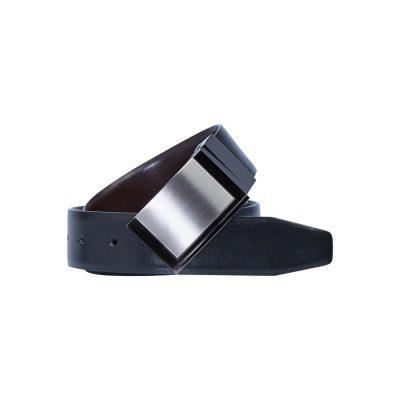 Fashion 4 Men - yd. Sangria Dress Belt Black 42
