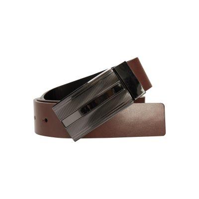 Fashion 4 Men - yd. Scott Dress Belt Tan/Black 36