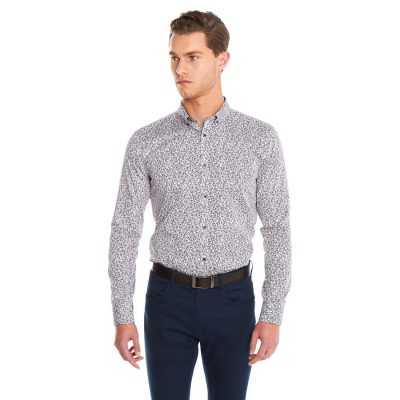 Fashion 4 Men - yd. Valen Shirt Red 2 Xs