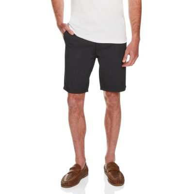 Fashion 4 Men - Tarocash Tim Print Short Black 34