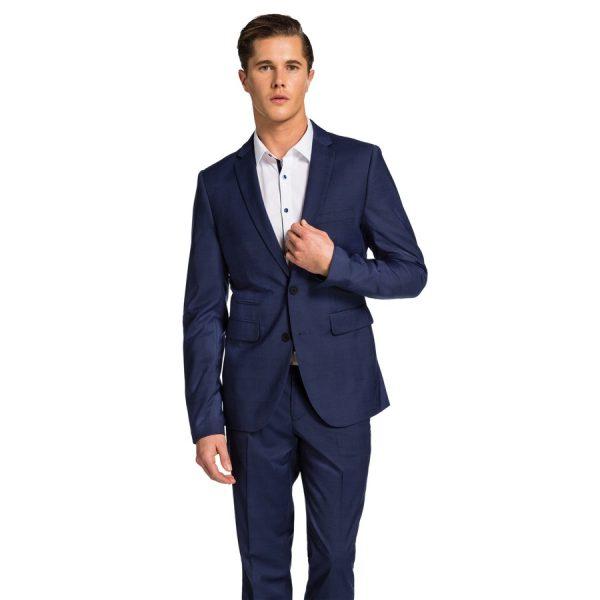 Fashion 4 Men - yd. Archie Skinny Suit Blue Check 32