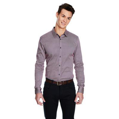 Fashion 4 Men - yd. Bay Slim Fit Shirt Multi Xl