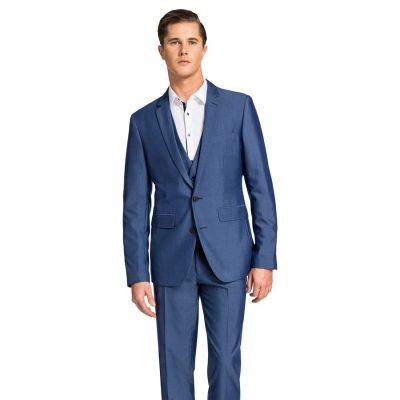Fashion 4 Men - yd. Beamer Slim Suit Blue 34