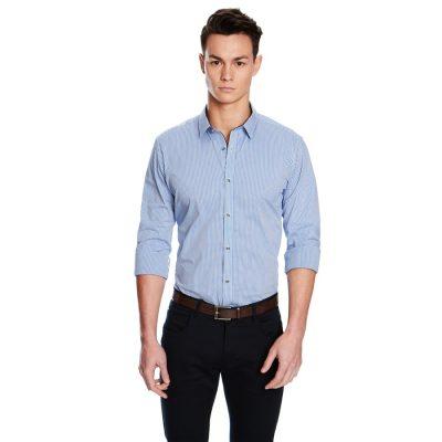 Fashion 4 Men - yd. Berlin New Shirt Blue Xs