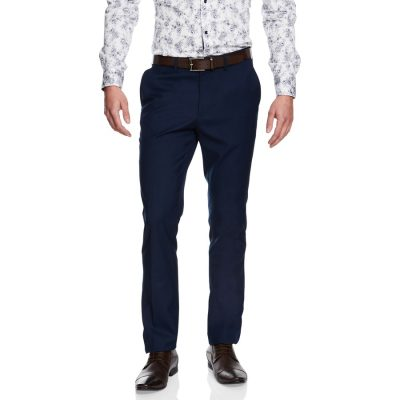 Fashion 4 Men - yd. Cahn Skinny Dress Pant Blue 40