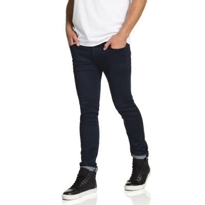 Fashion 4 Men - yd. Dan Skinny Jean Dark Blue 33