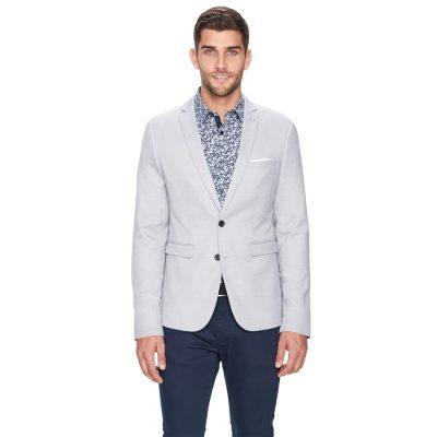 Fashion 4 Men - yd. Hoxton Blazer Grey Xxl