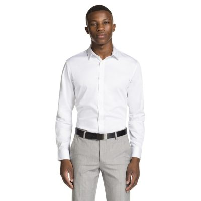 Fashion 4 Men - yd. Mission Slim Fit Dress Shirt White 2 Xs