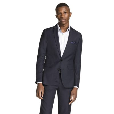Fashion 4 Men - yd. Newman Slim Fit Suit Slate Blue 36
