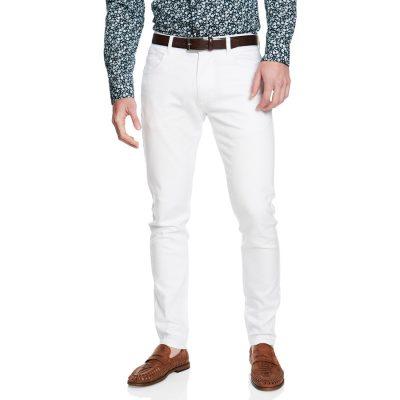 Fashion 4 Men - yd. Nicol Chino Pant White 32