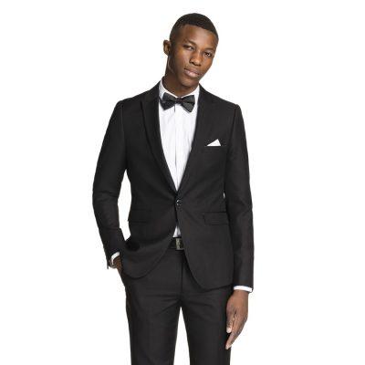 Fashion 4 Men - yd. Parisian Machine Wash Skinny Suit Black 46