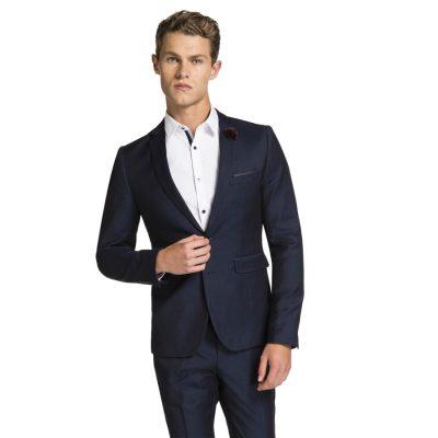 Fashion 4 Men - yd. Rothchild Skinny Suit Dark Blue 42