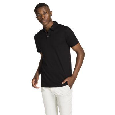 Fashion 4 Men - yd. Tuscan Polo Black 3 Xl