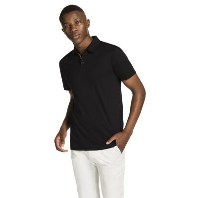 Fashion 4 Men - yd. Tuscan Polo Black Xs
