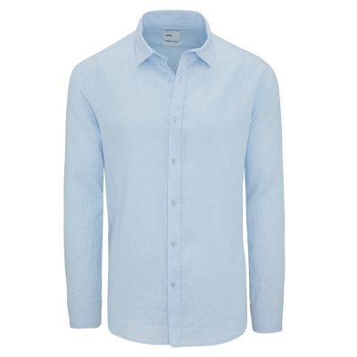 Fashion 4 Men - yd. West Hampton Shirt Sky Xs