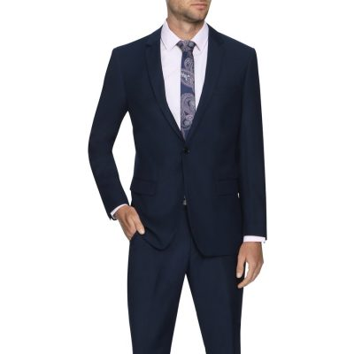 Fashion 4 Men - Tarocash Dylan 1 Button Suit Navy 34