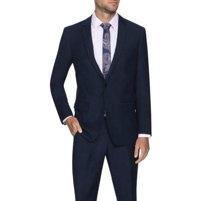Fashion 4 Men - Tarocash Dylan 1 Button Suit Navy 46