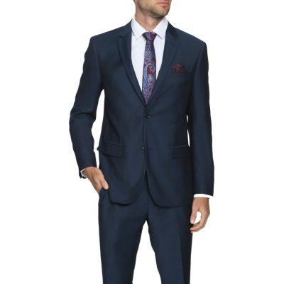 Fashion 4 Men - Tarocash Kotter 2 Button Suit Midnight 40