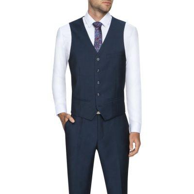 Fashion 4 Men - Tarocash Kotter Waistcoat Midnight S