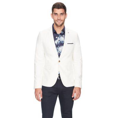 Fashion 4 Men - yd. Alec Linen Blazer Natural Xxl