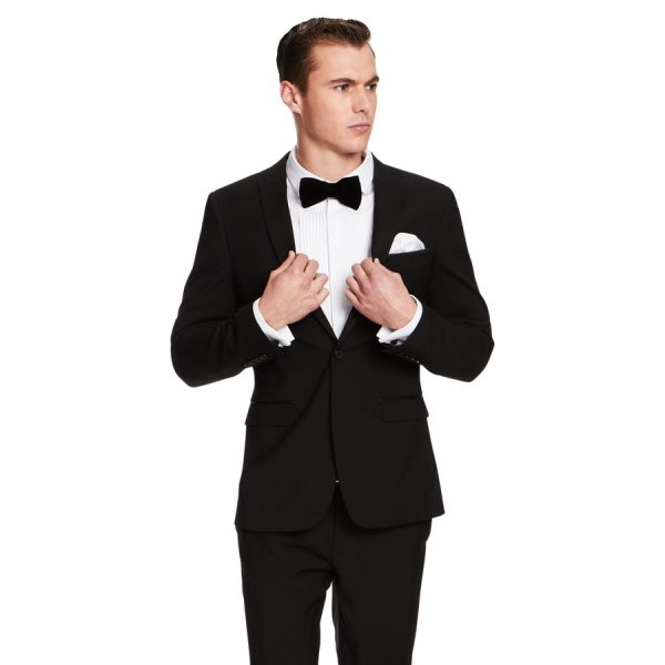 Fashion 4 Men - yd. Aston Slim Fit Suit Black 46