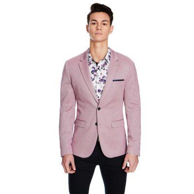 Fashion 4 Men - yd. Connery Stretch Blazer Soft Burg 2 Xs