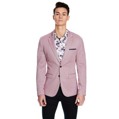 Fashion 4 Men - yd. Connery Stretch Blazer Soft Burg M