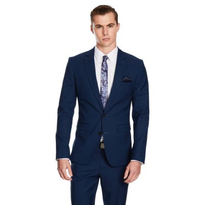 Fashion 4 Men - yd. Davis Slim Fit Suit Dark Blue 44