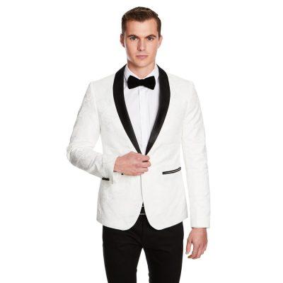 Fashion 4 Men - yd. Francisco Blazer Cream S