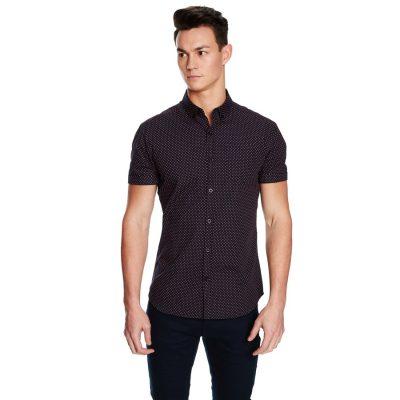 Fashion 4 Men - yd. Kings Ss Shirt Dark Blue M