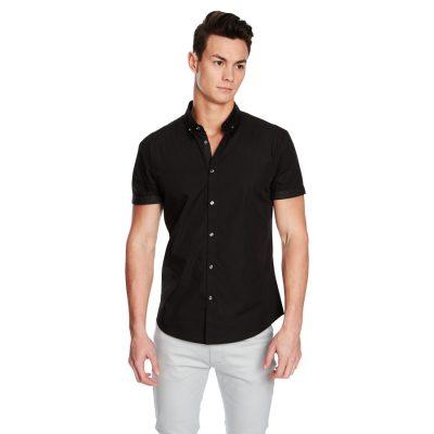 Fashion 4 Men - yd. Nightrider Slim Fit Ss Shirt Black Xl